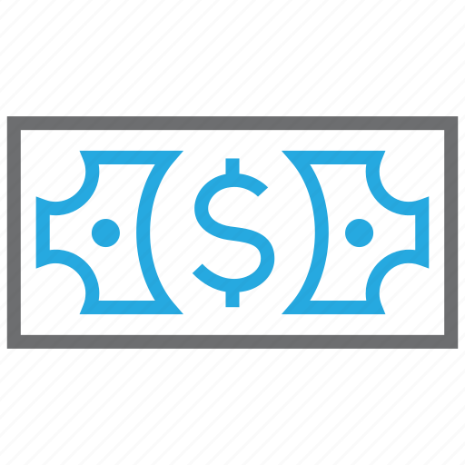credit, currency, debit, dollar, money, profit, turnover icon