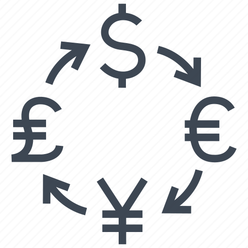 conversion, convert, currency, exchange, money, rate, transfer icon