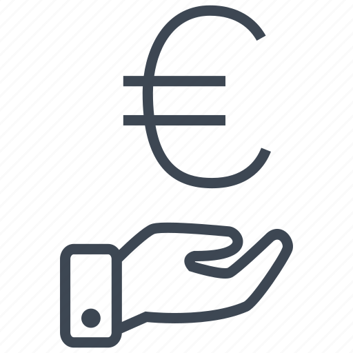 cash, credit, currency, debit, euro, finance, money icon
