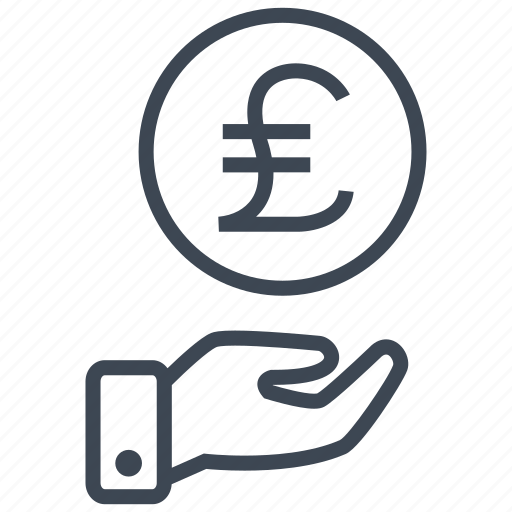 cash, credit, currency, debit, finance, money, pound icon