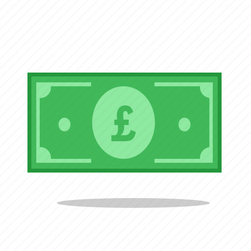 currency, dollar, gbp, monetary, money, paper, pound icon