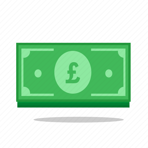 currency, gbp, monetary, money, paper, pounds icon