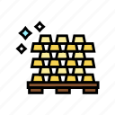gold, ingot, heap, game, lottery, win
