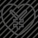 heart, love, renminbi, yen, yuan icon