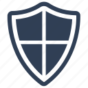 protection, safety, shield icon