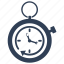 clock, deadline, productivity, stopwatch icon
