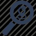 location, search, service icon
