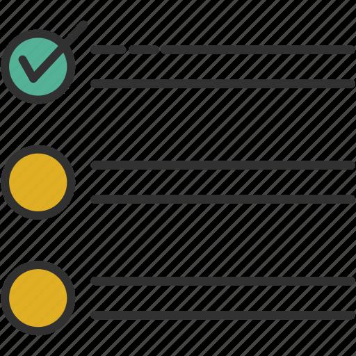check, checkbox, checklist, list icon