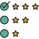 feedback, positive, product review, review icon