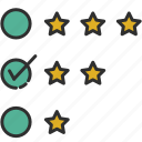evaluation, feedback, product review, review icon
