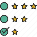 evaluation, feedback, review, survey icon