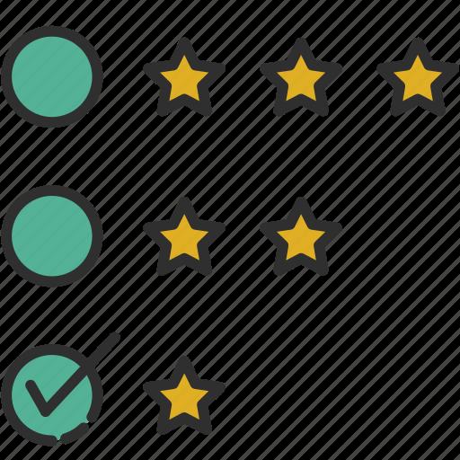 evaluation, feedback, review, survey icon
