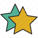 feedback, rate, rating, stars icon