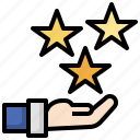 review, rating, stars, points