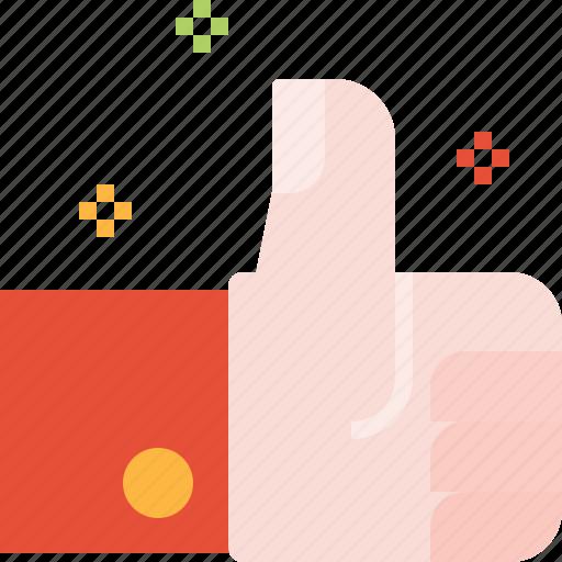 award, feedback, good, hand, rating, thumb, up, warranty icon