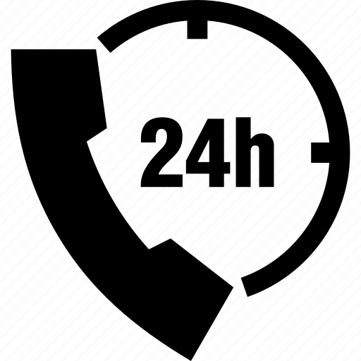 assistance, customer, non stop, phone, service, support icon