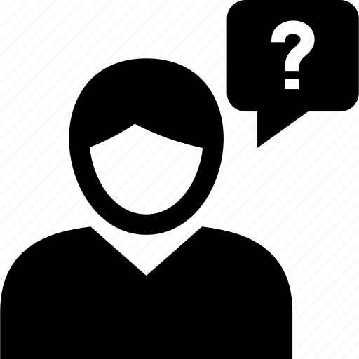 customer, faq, help, user, user question icon