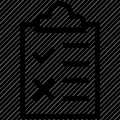 checklist, clipboard, customer service, document, list, paper, service icon