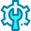 construction, gear, maintenance, repair, setting, settings, wrench