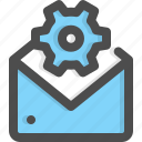 email, envelope, mail, message, settings, support, technician