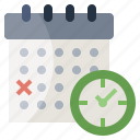 administration, and, calendar, date, schedule, time