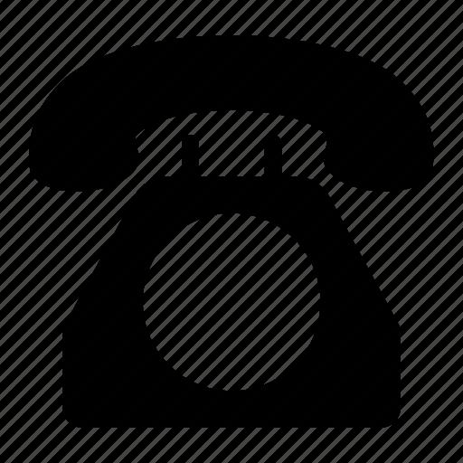 communication, landline, phone, telephone icon