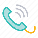 call, mobile, phone, services icon