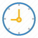 alarm, clock, time, wallclock icon