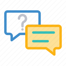 chat, conversation, discussion, message icon