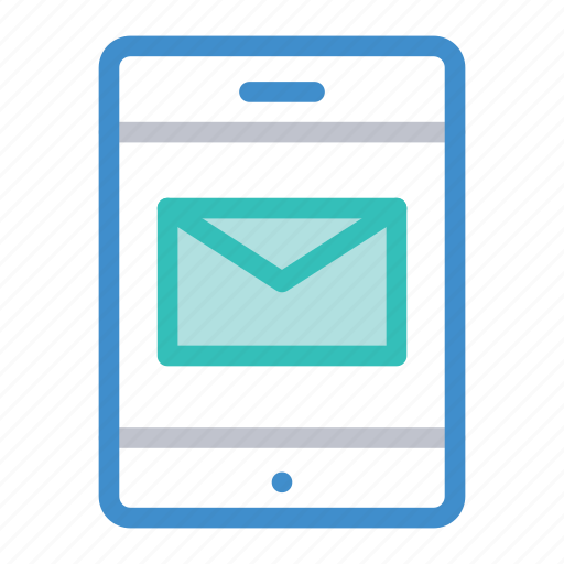 email, inbox, message, mobile icon