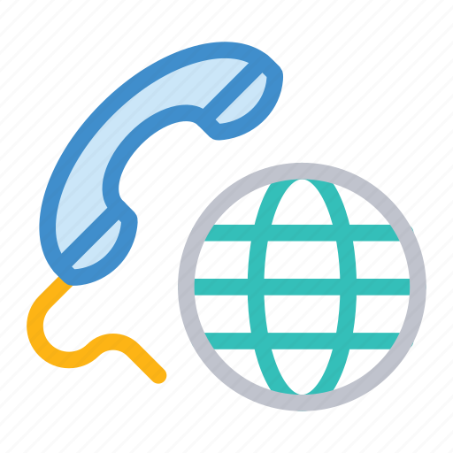 call, global, international, services icon