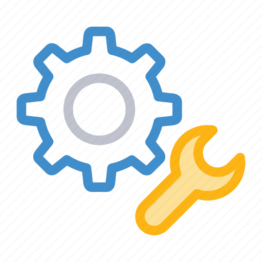 config, fix, repair, setting icon