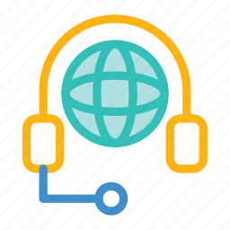 help, services, support, world icon