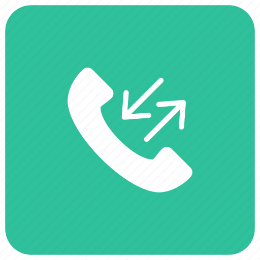 call, dialing, receiving, services icon