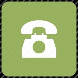 call, communication, landline, phone icon