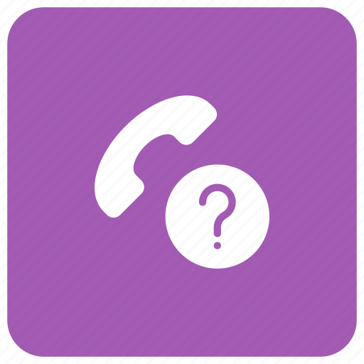 call, phone, received, unknown icon