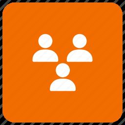 client, customer, representative, users icon