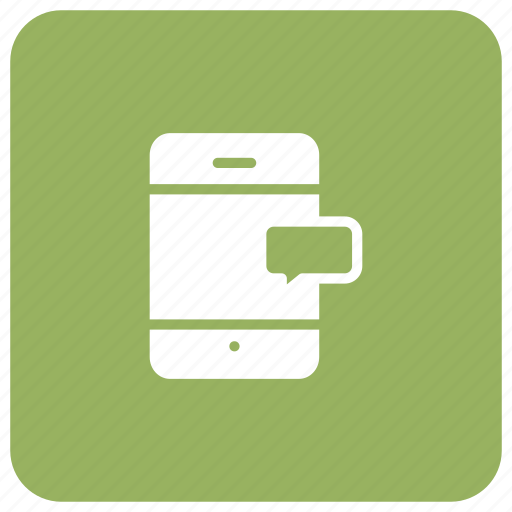 chat, comment, message, mobile icon