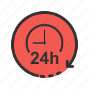 business, clock, hour, hours, round, time