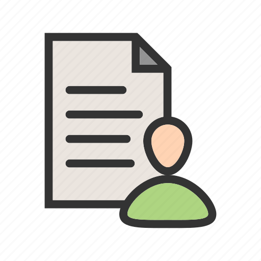 business, contact, customer, data, information, resources icon