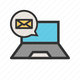 communication, messaging, mobile, online, phone, technology icon