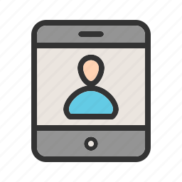 communication, contact, messaging, mobile, online, phone, technology icon