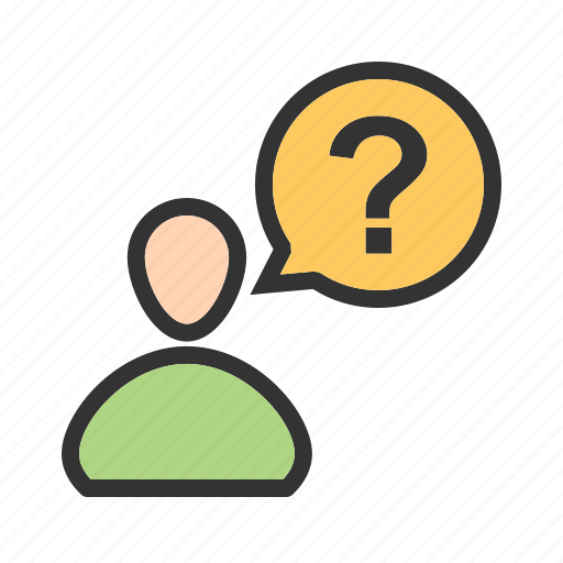 customer, mark, person, question, questions, service icon