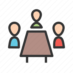 business, call, conference, meeting, office, people, phone icon