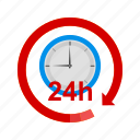 business, clock, hour, hours, round, time icon