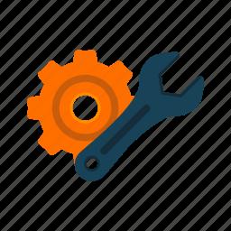 change, configuration, configure, equipment, service, technology icon