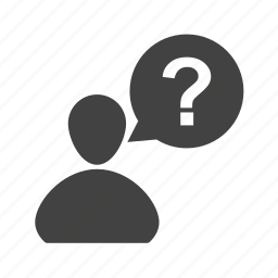 customer, mark, person, question, questions, service icon