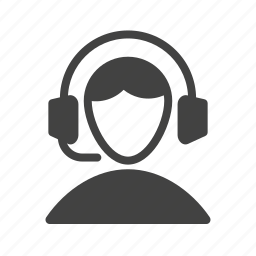 call, center, customer, male, people, representative, service icon