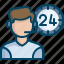 avatar, call, customer, man, service, support, user