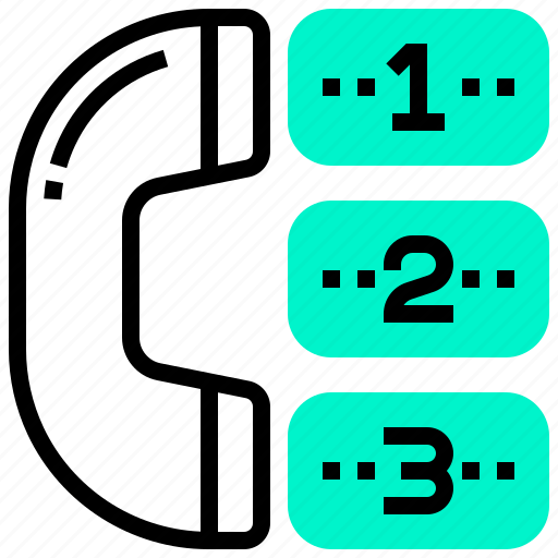 call, choice, contact, options, service icon